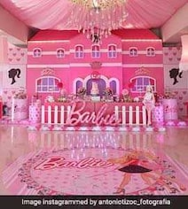 Drug Kingpin 'El Chapo' Sits In Jail, Daughters Have Barbie Themed Party