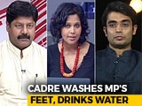 Video: BJP Lawmaker's Feet Feat: Nishikant Dubey Perpetuating Caste?