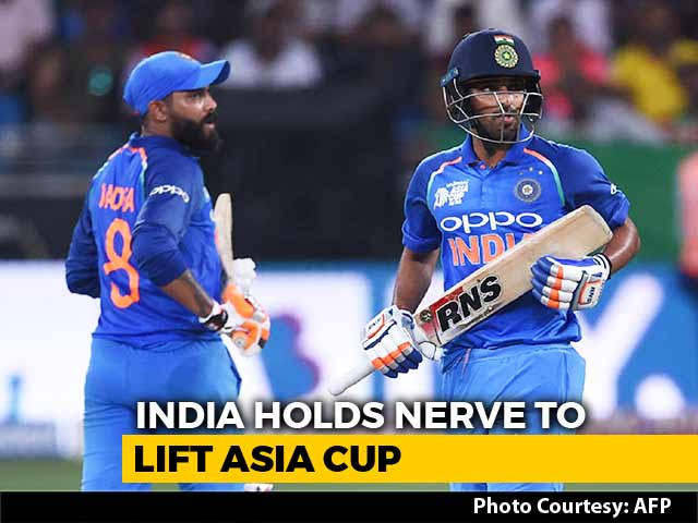 Video : Asia Cup: India Down Bangladesh In Last-Ball Thriller