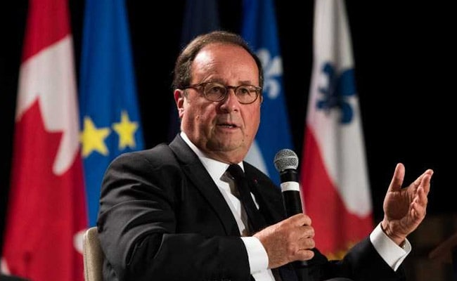 Ex-French Leader Francois Hollande Finds Second Career -- On Stage
