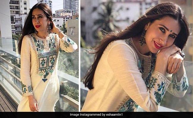 Karisma Kapoors Desi Girl Vibes Are On Point-3200