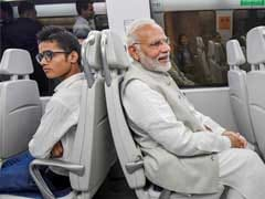 """Smiles On Metro"": PM's 14-Minute Ride To Dwarka To Avoid Traffic Jams"
