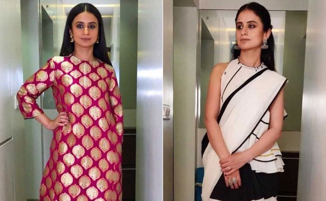 Rasika Dugal Ups Her Fashion Game For <i>Manto</i> Promotions