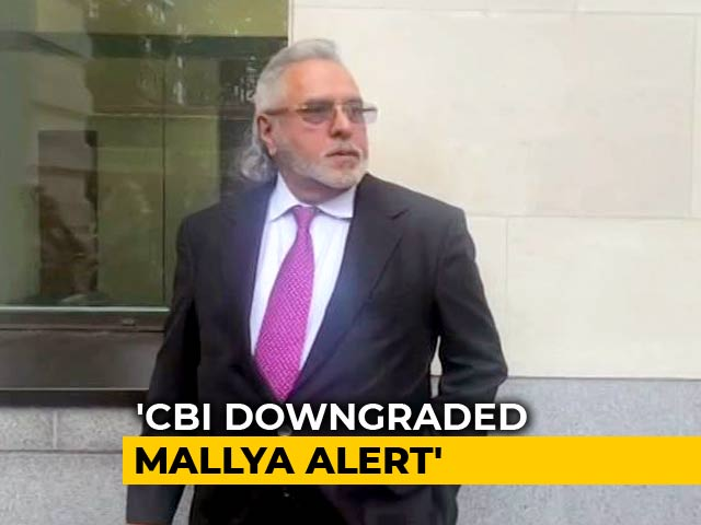 Video : Didn't Think Vijay Mallya Was Flight Risk: CBI On Diluted Lookout Notice