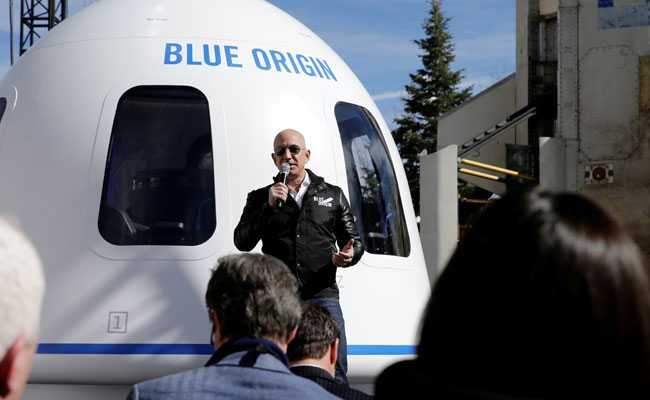 Jeff Bezos' space company set to launch