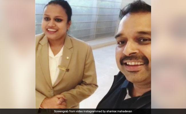 होटल में शंकर महादेवन के लिए लड़की ने गाया ऐसा गाना, सुनकर आप भी हो जाएंगे मदहोश