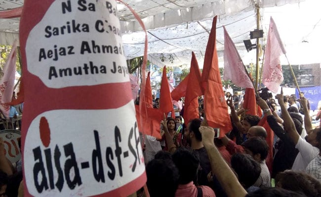 Left Unity Sweeps JNUSU Election Result, ABVP Decimated