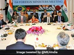 India, Other G4 Nations Concerned Over Pace Of UN Security Council Reform