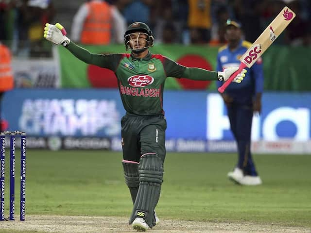 Mushfiqur Rahim Joins Virat Kohli, Younis Khan In List Of Highest Individual Scorers In Asia Cup