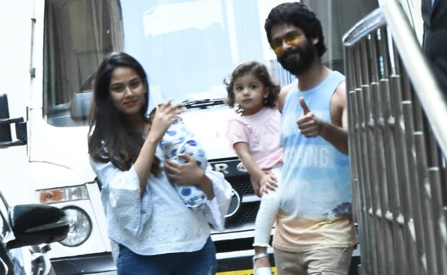 With New Baby And Misha Ill, Shahid Kapoor Has Had To Put Parenting Over Promotions