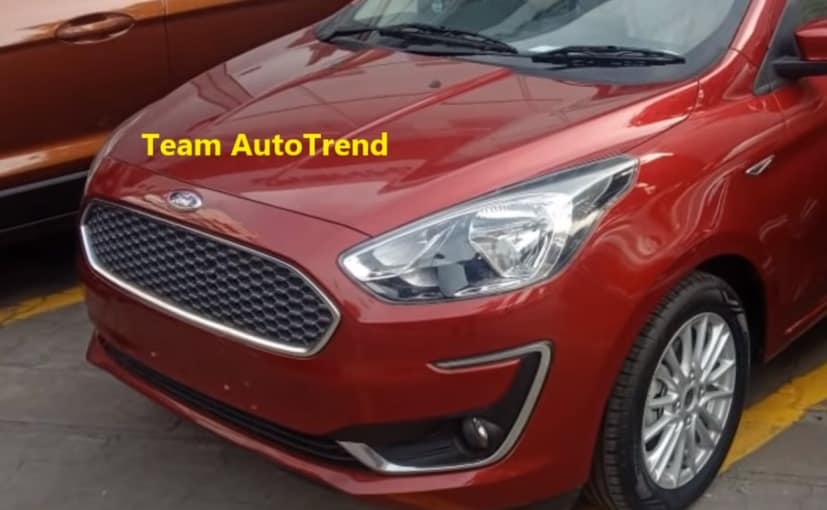 Ford Aspire facelift borrow its styling cues from the 2018 Figo sedan offered in South Africa