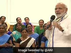 PM Modi Meets Social Health Activists, Praises Contribution To Healthcare