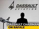 Video : Dassault Boss Video In Congress Tweet Pops New Rafale Questions