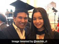 Sachin Tendulkar Posts Emotional Message For Daughter Sara On Her Graduation Day