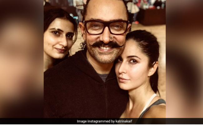 A Thugs Of Hindostan Update, Posted By Aamir Khan And Katrina Kaif