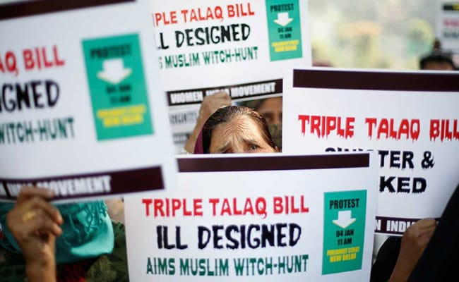 Triple Talaq An Offence As President Clears Centre's Executive Order