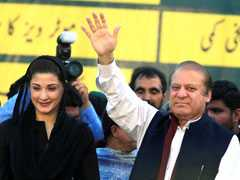 Nawaz Sharif, Daughter Arrive In Lahore After Jail Sentence Is Suspended