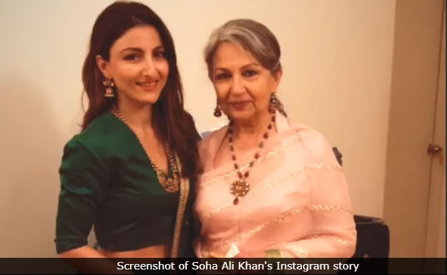 Soha Ali Khan And Sharmila Tagore Attend Family Wedding In Goa. See Inside Pics