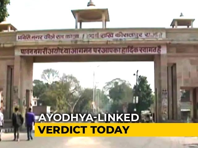 Video : Is Mosque Essential To Islam? Supreme Court's Ayodhya-Linked Verdict Today