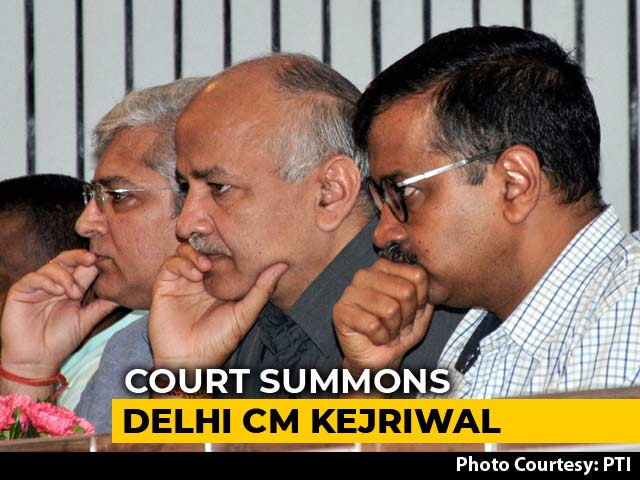 Video : In Bureaucrat's Assault, Arvind Kejriwal, AAP Lawmakers Summoned By Court