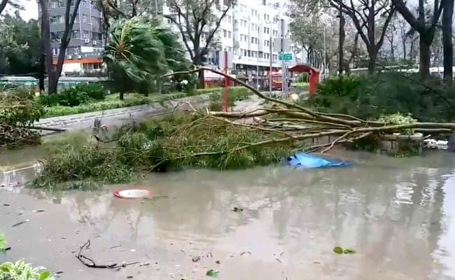 Hong Kong, Southern China Mop Up After Super Typhoon Mangkhut