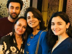 One Guess Who Popped Up In Ranbir Kapoor's Birthday Post From Mom Neetu