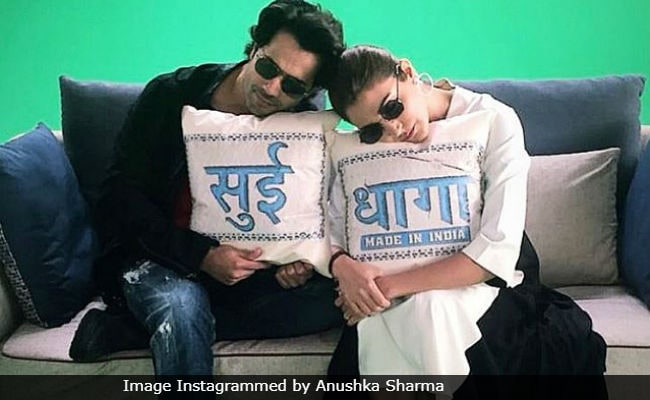 Anushka Sharma And Varun Dhawan Taking A 'Power Nap' During Sui Dhaaga Promotions Is Just Too Cute