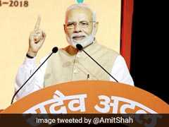 """""""No Challenge"""" To BJP, Confident Of Victory: PM Modi At Key Party Meet"""