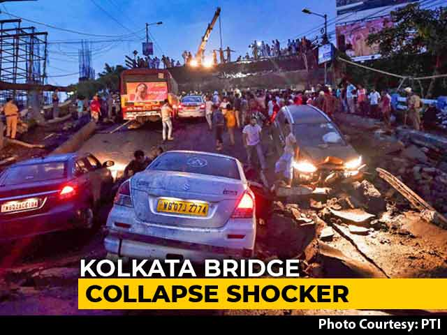 Video : 6 Weeks Before Kolkata Bridge Collapse, Railways Had Sounded An Alarm