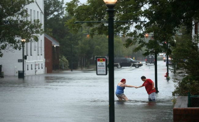 Florence 'Unloading Epic Amounts Of Rainfall': North Carolina Governor