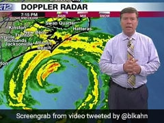 Weathermen Ditch Live Broadcast As Hurricane Florence Floods Station