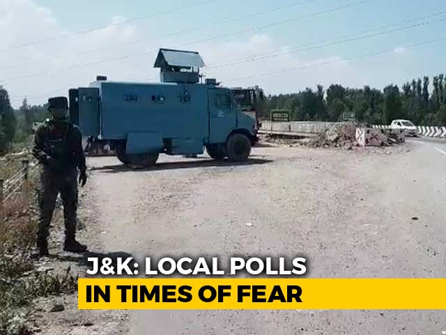 Video : Kashmir Trudges Towards Local Body Polls In Shadow Of Fear, Uncertainty