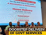 Video : Arvind Kejriwal Launches Doorstep Delivery Service