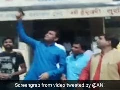 Video: BJP Youth Leader Celebrates Birthday By Firing Gun In The Air