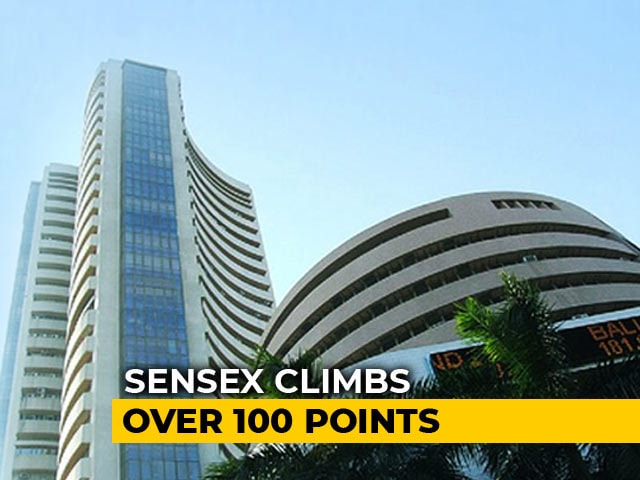Video : Sensex Climbs Over 100 Points, Nifty Above 11,300