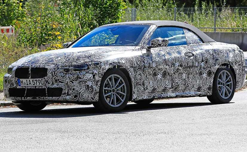 BMW 4 Series Convertible Spotted Testing In Munich
