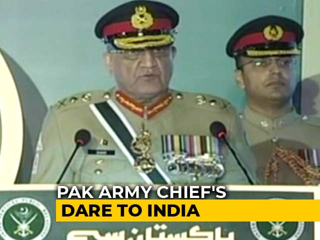 Video : As Imran Khan Talks Of Peace With India, Pak Army Chief's Contradiction