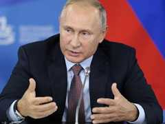 """They Are Civilians,"" Says Putin On UK Nerve Agent Poisoning Suspects"