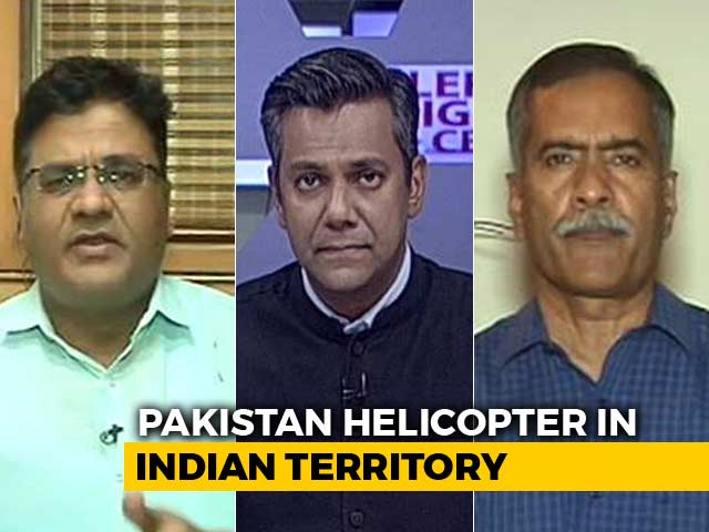 Video : Pak Chopper Intrusion: Deliberate or Mistake?