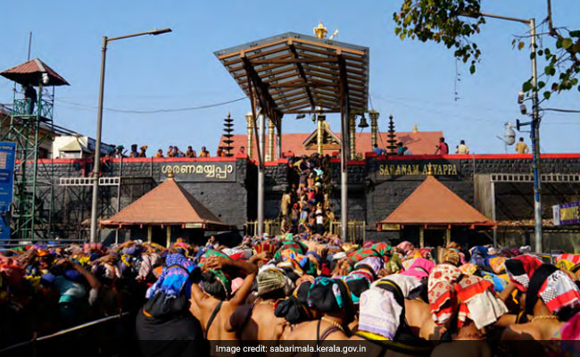 Protests Against Supreme Court Verdict On Sabarimala Continue In Kerala