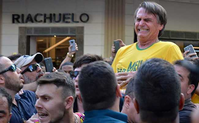 Will Recover Soon, Says Brazil Presidential Candidate Who Was Stabbed