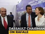 Video : Dassault Boss Video In Congress Tweet Pops New Rafale Questions