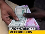 Video : Sensex Slips Over 250 Points, Rupee Dives To New Lifetime Low Of 72.32