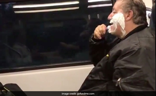Man Mocked For Shaving On Train Gets Money, Job Offers And Dignity Back