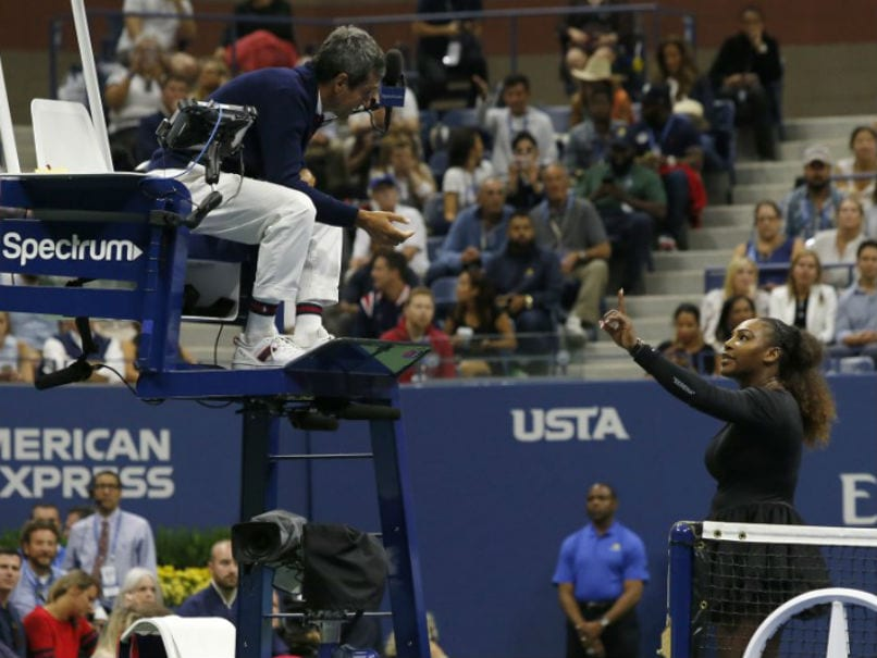 Watch: Serena Williams Lashes Out At Chair Umpire, Calls Him
