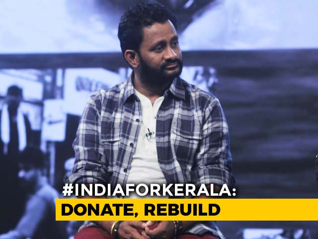 Video: Resul Pookutty Prioritises Cleaning Up Efforts In Kerala Post Floods