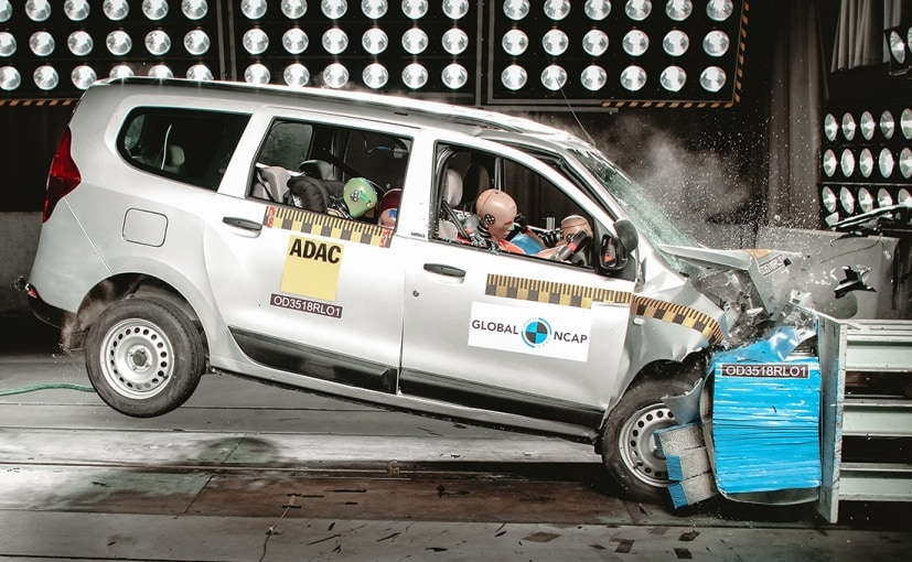 India-made Renault Lodgy scored a zero-star rating in the recent Global NCAP crash test