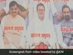 """Rahul Gandhi Should Apologise For """"Caste"""" Posters In Bihar, Says BJP"""