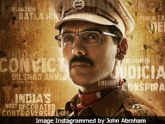 <I>Batla House</I> Poster:  Meet John Abraham As 'India's Most Controversial Cop'