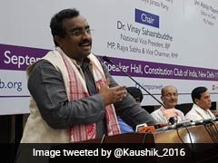 """Detect, Delete, Deport"": BJP's Ram Madhav On Assam Citizens' List"